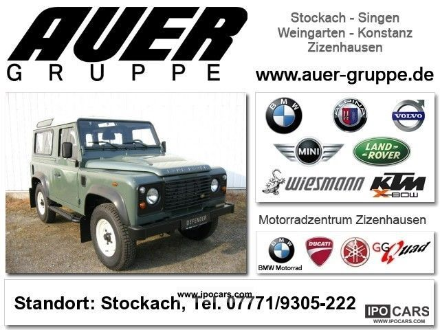 2008 Land Rover  Defender 90 TD4 St.-W. 'S' off-road vehicle (wheel) Off-road Vehicle/Pickup Truck Used vehicle photo
