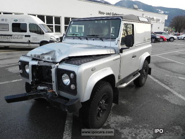 2011 Land Rover Defender 90 Pick Up E Car Photo And Specs