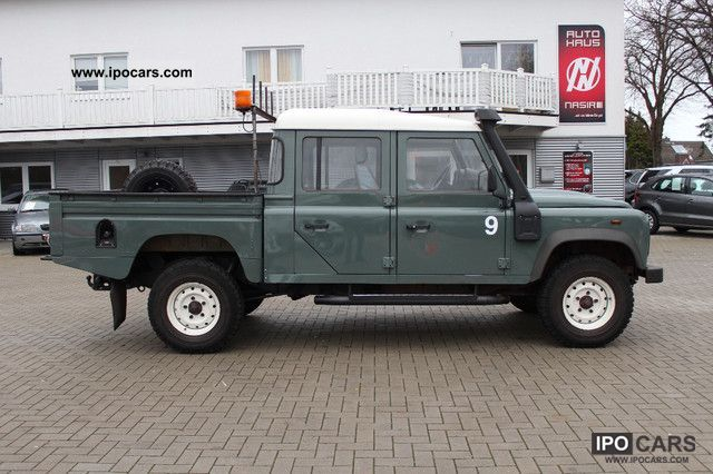 2009 Land Rover Defender 130 Crew Cab Car Photo And Specs
