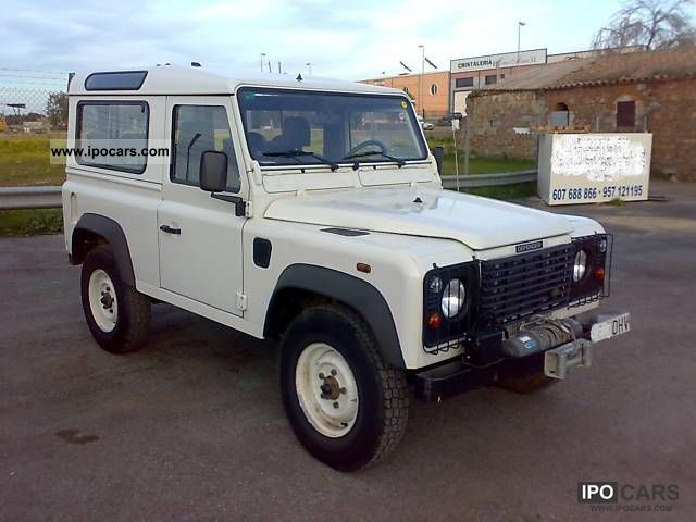 2006 Land Rover  Defender 90 Station Wagon S Off-road Vehicle/Pickup Truck Used vehicle photo