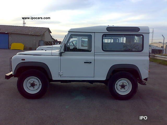 2006 land rover defender 90 station wagon s car photo and specs. Black Bedroom Furniture Sets. Home Design Ideas