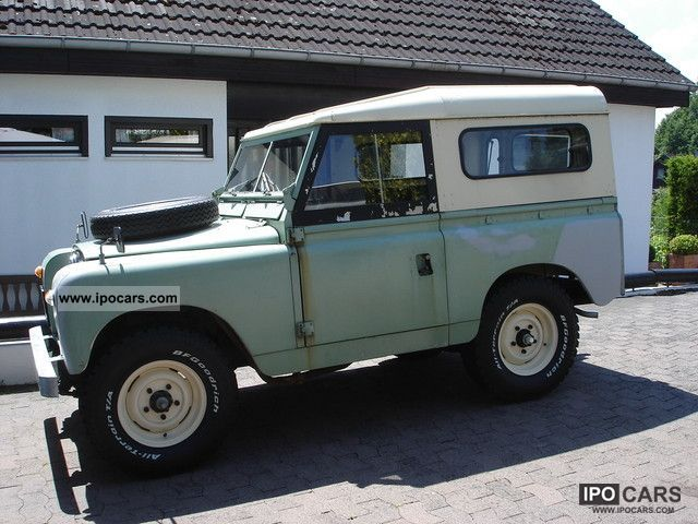 Land Rover  Series II 1961 Vintage, Classic and Old Cars photo