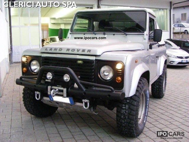 2008 Land Rover Defender 90 2 4 Td4 Pick Up Gancio Traino