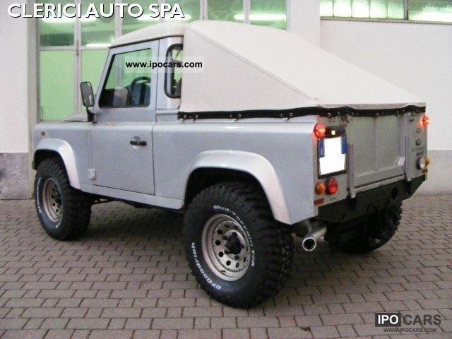 2008 Land Rover Defender 90 2 4 Td4 Pick Up Gancio Traino
