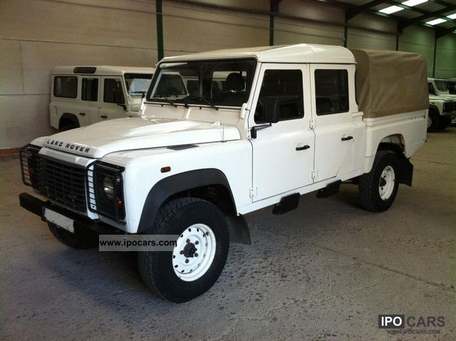 2007 Land Rover Defender 130 Crew Cab D Car Photo And Specs