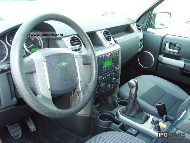 2007 Land Rover Discovery 3 2 7 Tdv6 S Car Photo And Specs