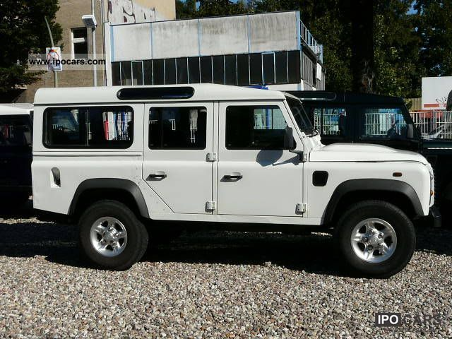 2007 Land Rover Defender 110 Td4 Air Conditioning Alloy