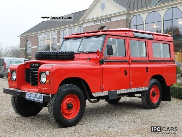Land Rover  109 STAWAG 5drs. LPG 1974 Vintage, Classic and Old Cars photo