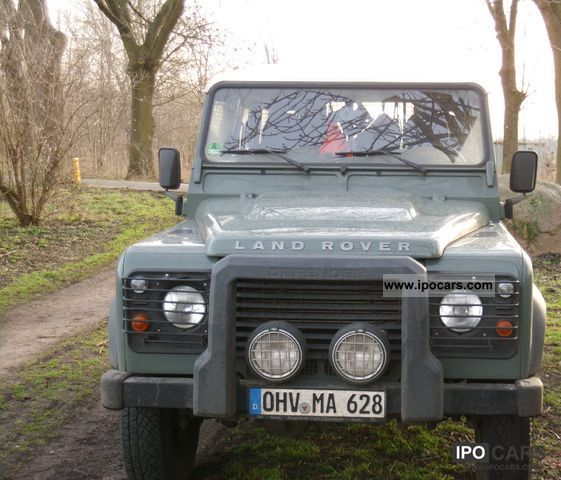 2010 Land Rover Defender 110 Hard Top E Car Photo And Specs