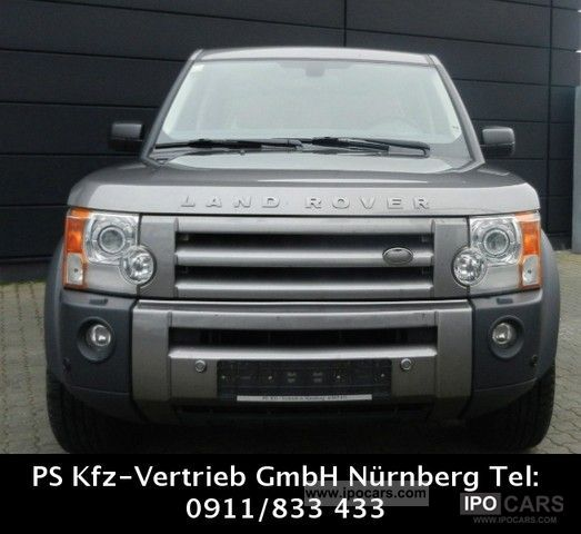 Car Finance Land Rover: 2008 Land Rover Discovery TD V6 Autom.Leder Navi + Xenon