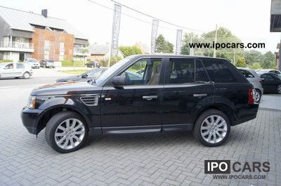 2008 land rover range rover sport car photo and specs. Black Bedroom Furniture Sets. Home Design Ideas