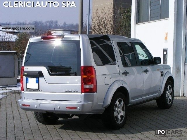 2007 land rover discovery 3 tdv6 xs aut 7 posti gancio sensory car photo and specs. Black Bedroom Furniture Sets. Home Design Ideas