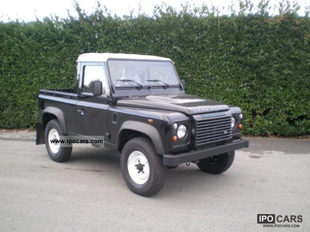 2010 Land Rover Defender 90 Td4 Pick Up Km 0 Pronta