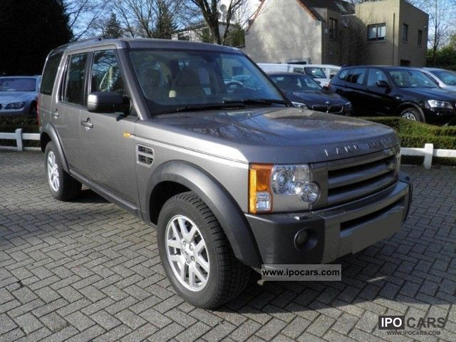2008 Land Rover  Discovery 2.7 TD V6 Aut. 7 Seats - Bixenon - GPS Off-road Vehicle/Pickup Truck Used vehicle photo