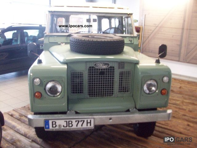 Land Rover  Series IIa, with vintage-approval 1970 Vintage, Classic and Old Cars photo