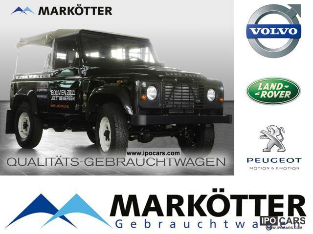 2010 Land Rover  Defender 90 TD4 E Soft Top Off-road Vehicle/Pickup Truck Used vehicle photo