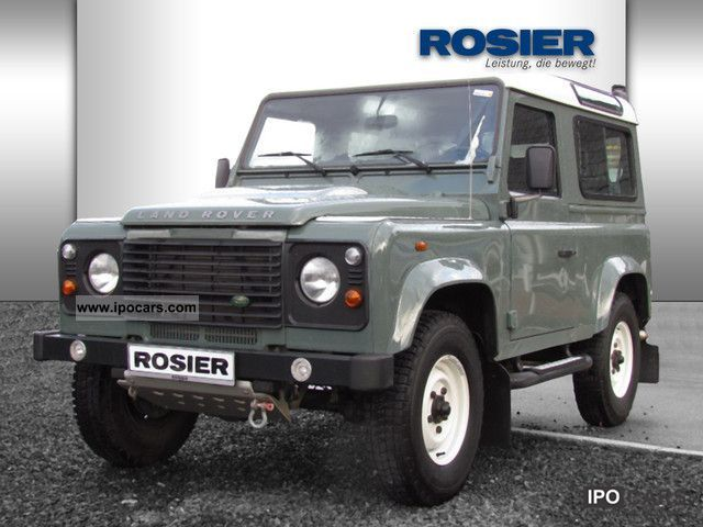 2009 Land Rover  Defender 90 TD4 S station Off-road Vehicle/Pickup Truck Used vehicle photo