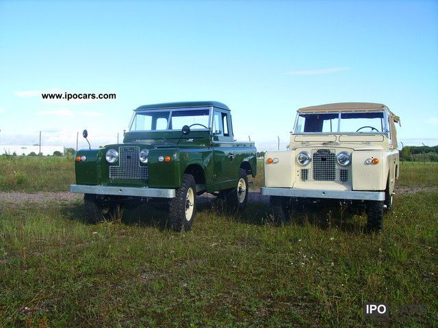 Land Rover  Series II 1964 Vintage, Classic and Old Cars photo