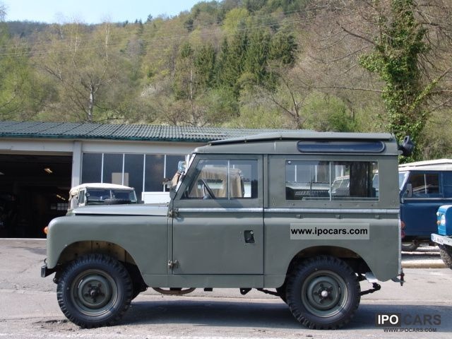 Land Rover  Series II PTT 1968 Vintage, Classic and Old Cars photo