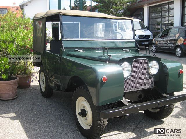 Land Rover  Series I 1952 Vintage, Classic and Old Cars photo