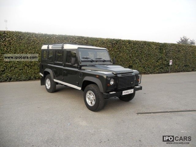 2010 Land Rover  Defender Defender 110 TD4 SW MOD. S Off-road Vehicle/Pickup Truck Used vehicle photo