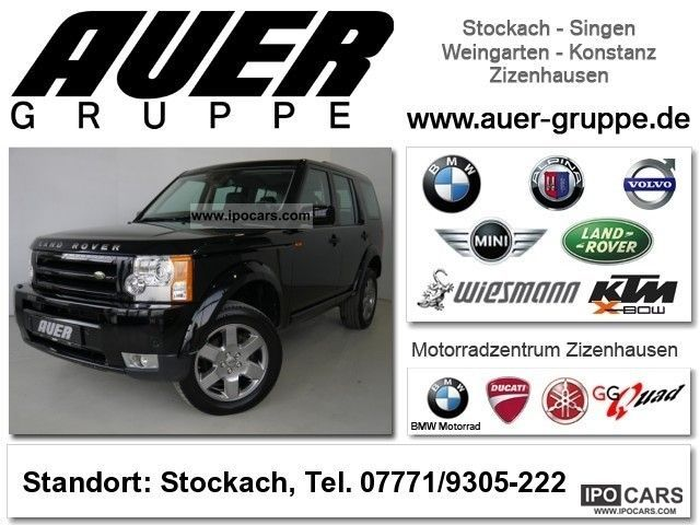 2008 Land Rover  Discovery TDV6 'HSE' SUV (Navi Leather ..) Off-road Vehicle/Pickup Truck Used vehicle photo