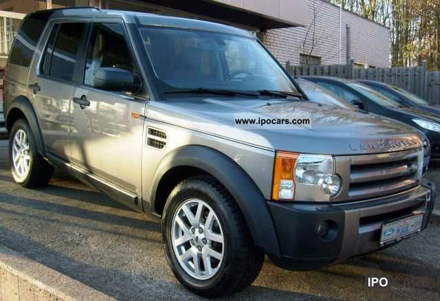 2007 land rover discovery se car photo and specs. Black Bedroom Furniture Sets. Home Design Ideas
