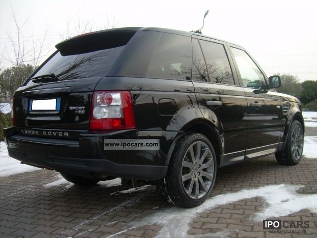 2009 land rover range rover sport 2 7 tdv6 hse automatic 190cv car photo and specs. Black Bedroom Furniture Sets. Home Design Ideas