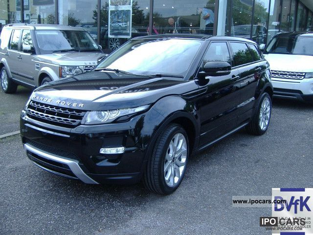 Range Rover Evoque Black 4 Door