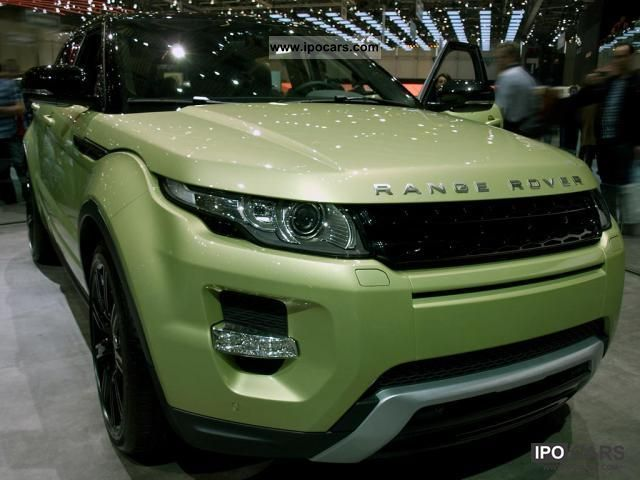 2011 Land Rover  Range Rover TD4 Evoque Pure 2.2, 110 kW (150 ... Off-road Vehicle/Pickup Truck New vehicle photo