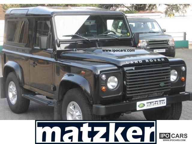 2012 Land Rover  Defender 90 Station Wagon S Off-road Vehicle/Pickup Truck Demonstration Vehicle photo