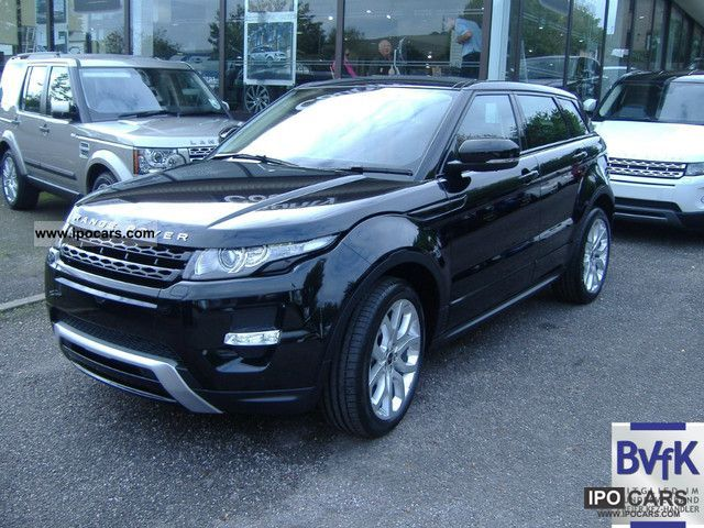 2011 Land Rover Range Rover TD4 Evoque Pure 5-door 4WD ...