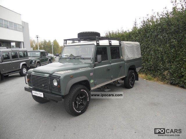 2010 Land Rover  Defender Defender 130 TD4 CREW CAB 6000 SOLO KM Off-road Vehicle/Pickup Truck Used vehicle photo