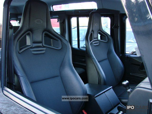 2010 land rover defender 110 experience recaro seats air conditioning car photo and specs. Black Bedroom Furniture Sets. Home Design Ideas