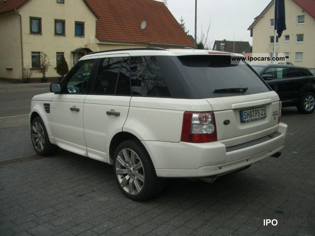 2009 Land Rover Range Rover Sport Supercharged  Car Photo and Specs
