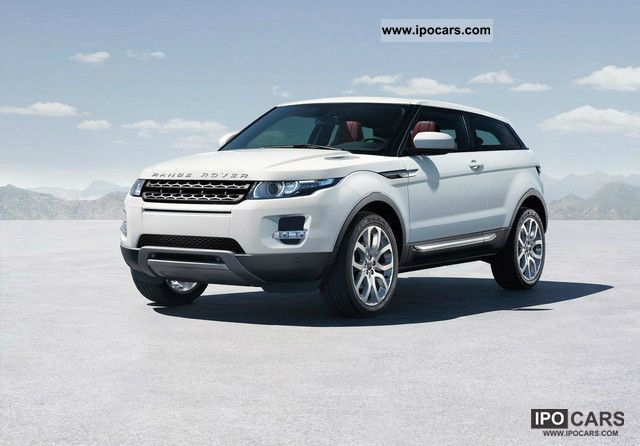 2011 Land Rover  Range Rover TD4 Evoque Pure NOW IN STOCK! Off-road Vehicle/Pickup Truck New vehicle photo