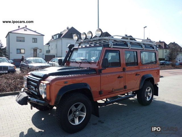 2009 Land Rover Defender 110 Station Wagon Fire & Ice