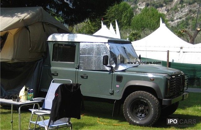 2008 Land Rover  130 CC 160 bhp TD4 S FOX OEM Off-road Vehicle/Pickup Truck Used vehicle photo