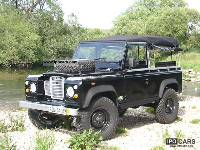 1988 Land Rover  LR 90 V8 Landy Point Edition Off-road Vehicle/Pickup Truck Classic Vehicle photo