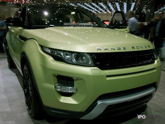 2011 Land Rover  Dynamic Range Rover Evoque TD4 2.2, 110 kW (1 .. Off-road Vehicle/Pickup Truck New vehicle photo