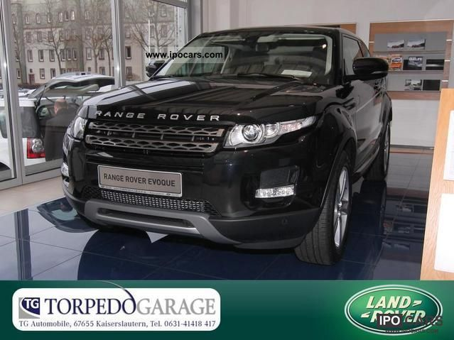 2011 Land Rover  Range Rover TD4 Evoque Coupe Off-road Vehicle/Pickup Truck New vehicle photo