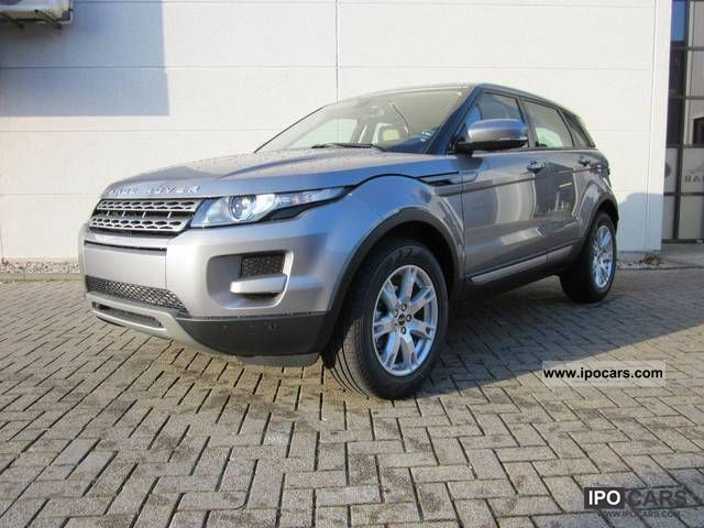 2012 Land Rover  Evoque Si4 2.0 4wd Pure Estate Car Demonstration Vehicle photo