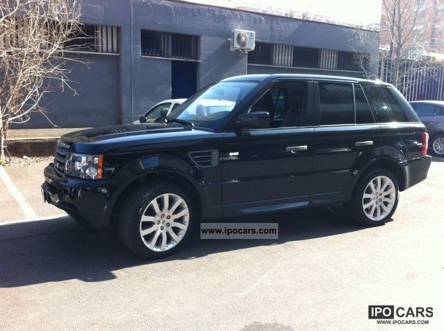 2009 land rover range rover sport hse car photo and specs. Black Bedroom Furniture Sets. Home Design Ideas