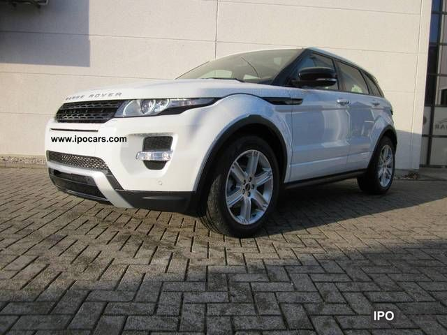 2012 Land Rover  Evoque Si4 4wd 2.0 Dynamic Estate Car Demonstration Vehicle photo