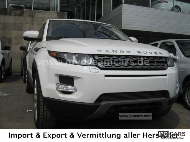 2012 Land Rover  Evoque Automatic 2.0l Pure BRHV T1: 52.900, - USD Off-road Vehicle/Pickup Truck Used vehicle photo