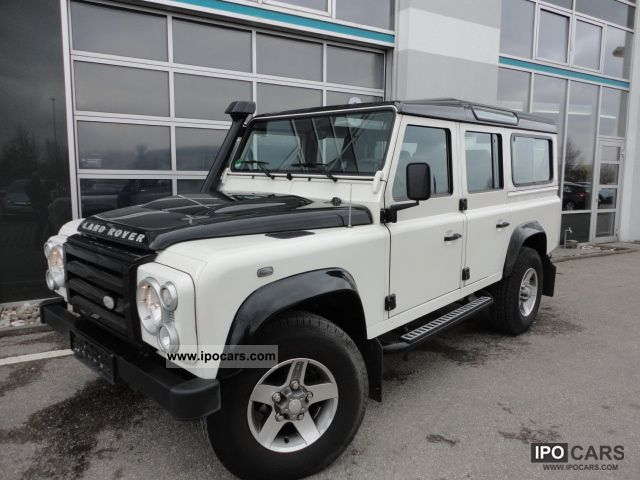 2009 Land Rover Defender 110 Special Edition Fire