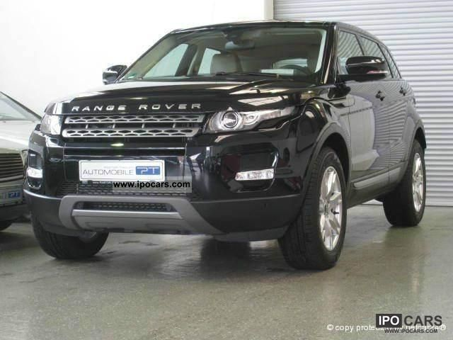 2011 Land Rover  Range Rover TD4 Evoque PELLE NAVI XENON PDC Limousine Used vehicle photo