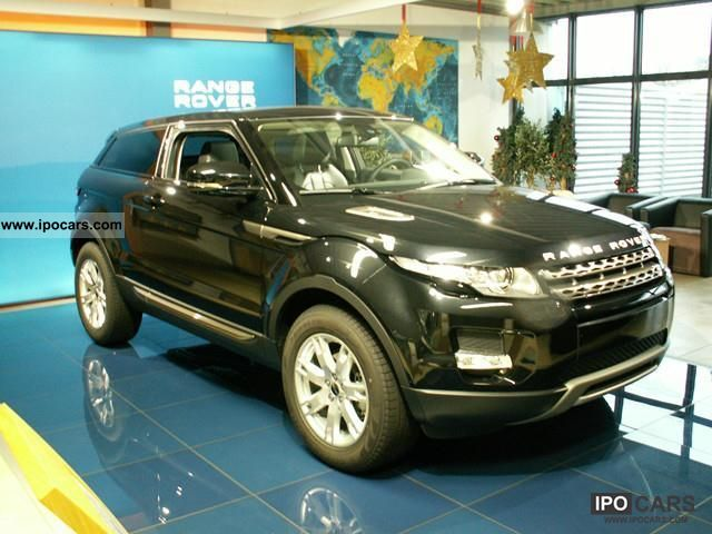 2011 Land Rover  Range Rover TD4 Evoque \ Sports car/Coupe New vehicle photo
