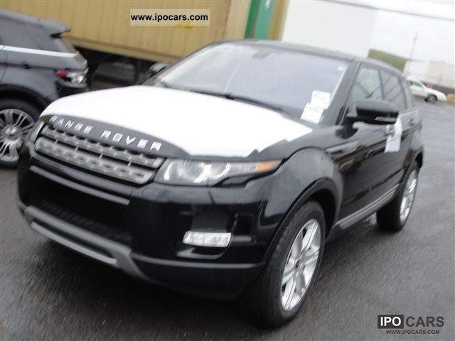 2011 Land Rover  Dynamic Range Rover Evoque Si4 2012 Off-road Vehicle/Pickup Truck New vehicle photo