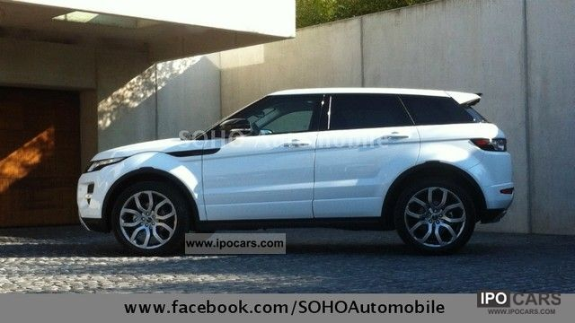 2012 Land Rover  Evoque TD4 Dynamic IMMEDIATELY EXPORT 42 900 Off-road Vehicle/Pickup Truck Used vehicle photo